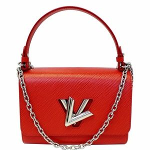 LOUIS VUITTON Twist MM Epi Leather Shoulder Bag